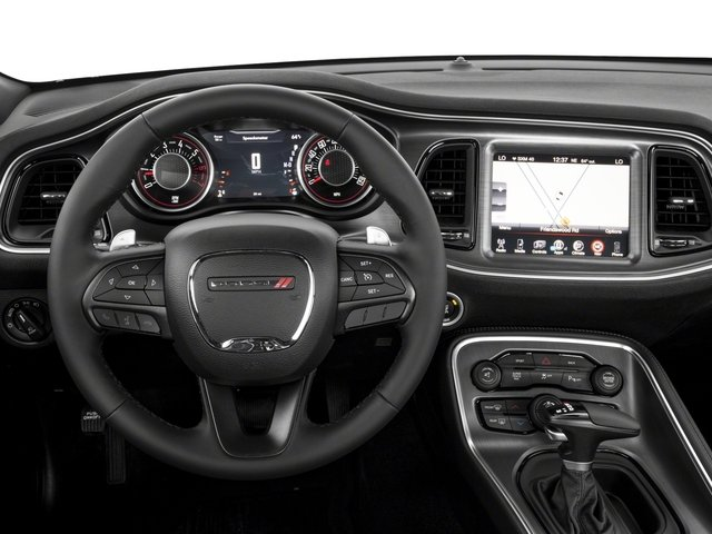 2018 Dodge Challenger Base Price T/A RWD Pricing driver's dashboard