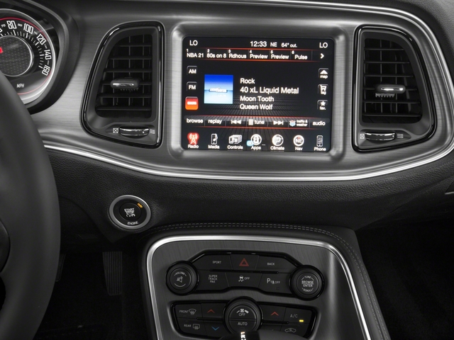 2018 Dodge Challenger Base Price T/A RWD Pricing stereo system