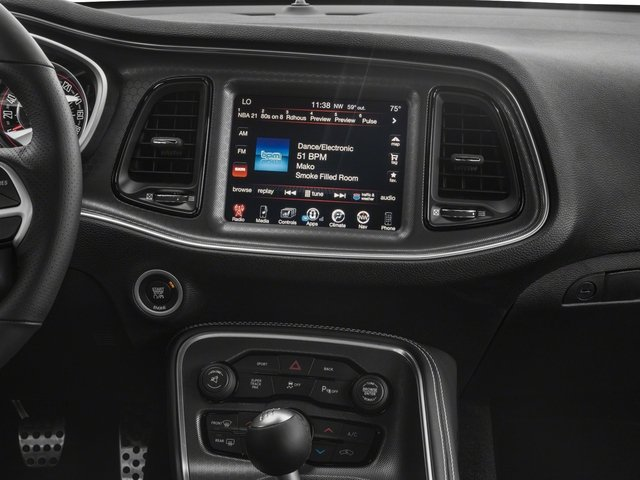 2018 Dodge Challenger Base Price R/T Scat Pack RWD Pricing stereo system