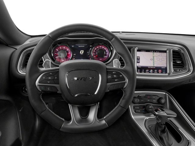 2018 Dodge Challenger Base Price SRT Hellcat RWD Pricing driver's dashboard