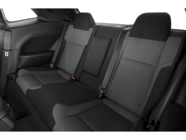 2018 Dodge Challenger Prices and Values Coupe 2D R/T Scat Pack V8 backseat interior