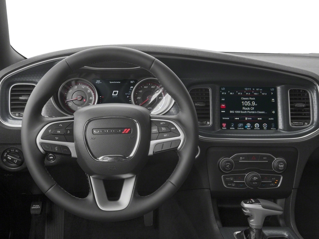 2018 Dodge Charger Base Price SXT RWD Pricing driver's dashboard