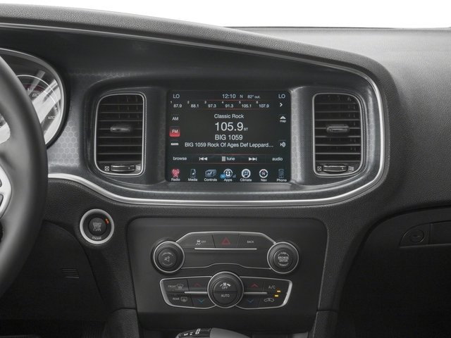 2018 Dodge Charger Base Price SXT RWD Pricing stereo system