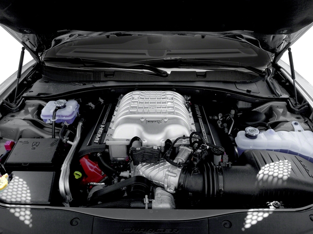 2018 Dodge Charger Pictures Charger SRT Hellcat RWD photos engine