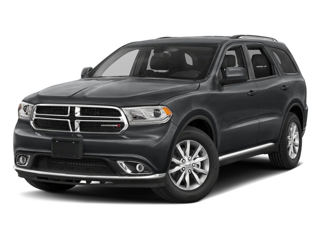 2018 Dodge Durango Pictures Durango SXT AWD photos side front view