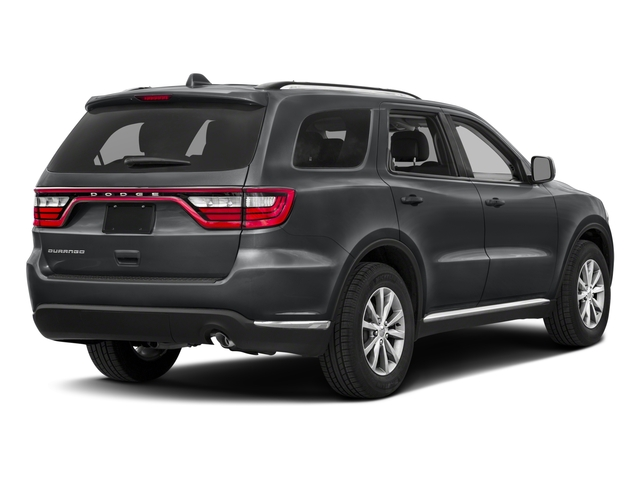 2018 Dodge Durango Base Price SXT RWD Pricing side rear view