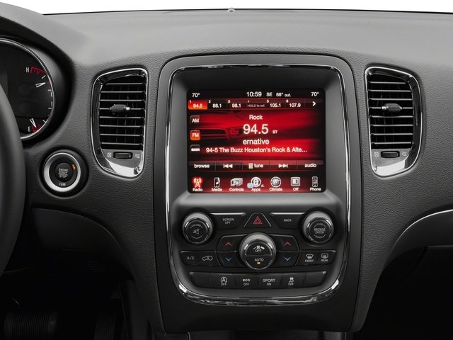 2018 Dodge Durango Pictures Durango SXT AWD photos stereo system