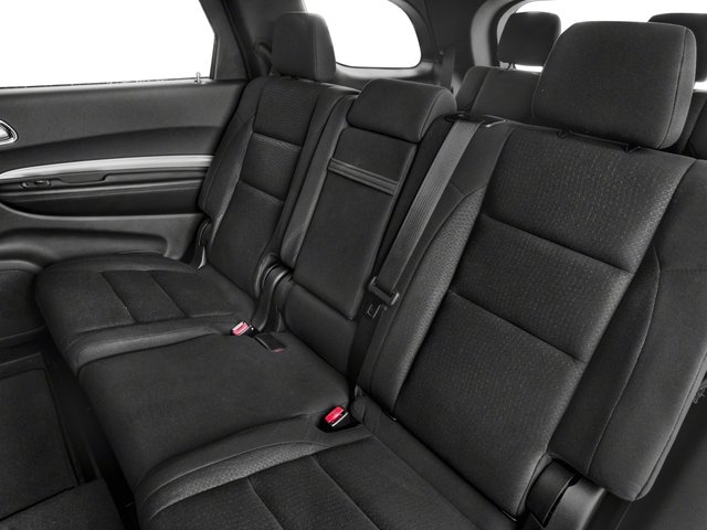 2018 Dodge Durango Base Price SXT RWD Pricing backseat interior
