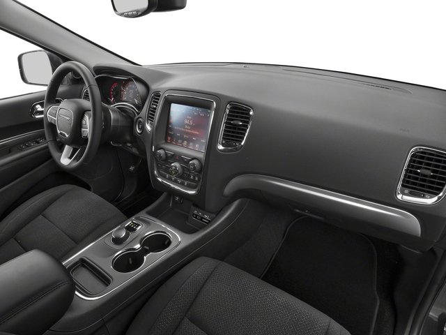 2018 Dodge Durango Base Price SXT RWD Pricing passenger's dashboard