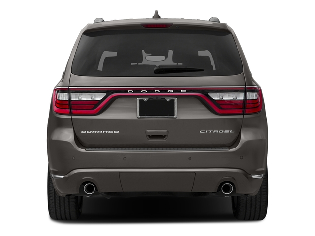 2018 Dodge Durango Pictures Durango Citadel AWD photos rear view
