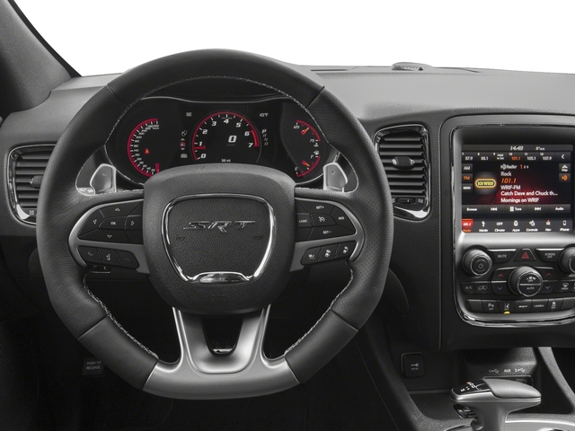 2018 Dodge Durango Prices and Values Utility 4D SRT AWD driver's dashboard