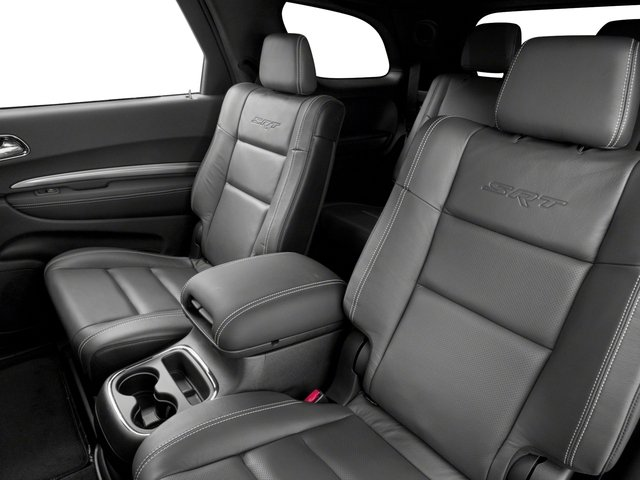 2018 Dodge Durango Prices and Values Utility 4D SRT AWD backseat interior