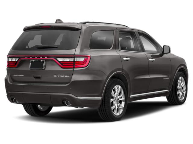 2018 Dodge Durango Prices and Values Utility 4D SRT AWD side rear view