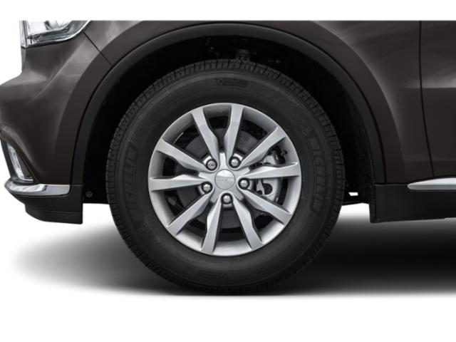2018 Dodge Durango Prices and Values Utility 4D SXT AWD wheel