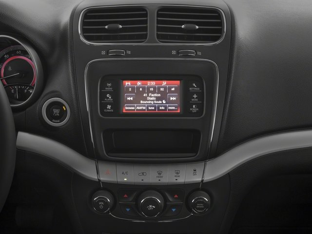 2018 Dodge Journey Pictures Journey SXT FWD photos stereo system