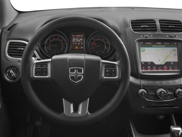 2018 Dodge Journey Base Price Crossroad AWD Pricing driver's dashboard