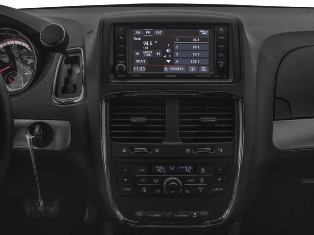 2018 Dodge Grand Caravan Pictures Grand Caravan Grand Caravan GT V6 photos stereo system
