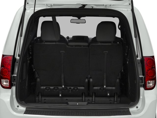 2018 Dodge Grand Caravan Pictures Grand Caravan Grand Caravan GT V6 photos open trunk