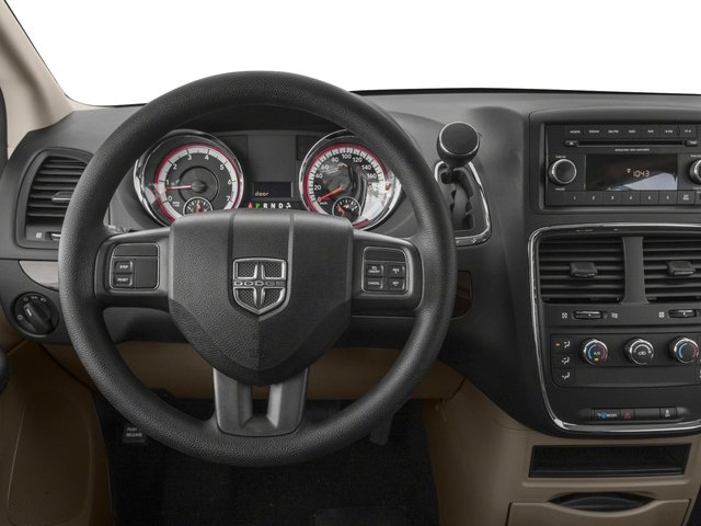 2018 Dodge Grand Caravan Base Price SE Plus Wagon Pricing driver's dashboard