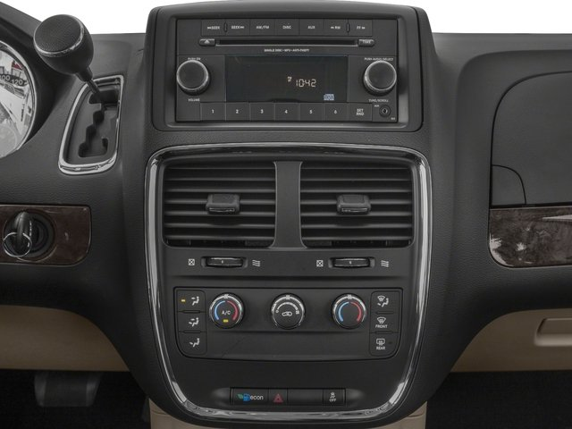2018 Dodge Grand Caravan Base Price SE Plus Wagon Pricing stereo system