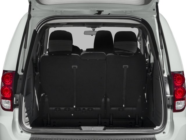 2018 Dodge Grand Caravan Base Price SE Wagon Pricing open trunk