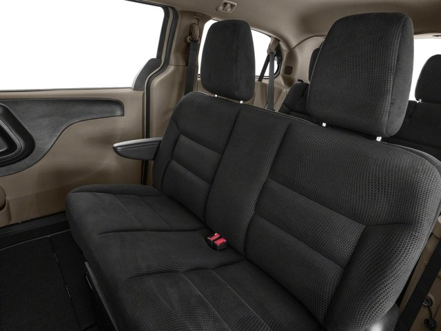 2018 Dodge Grand Caravan Base Price SE Plus Wagon Pricing backseat interior