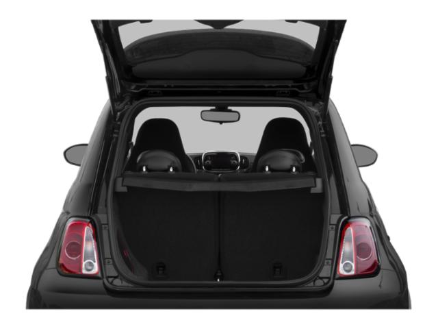 2018 FIAT 500 Prices and Values Hatchback 3D Lounge I4 open trunk