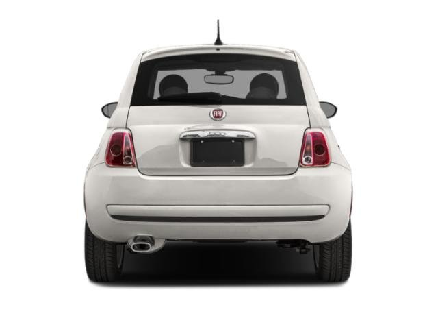 2018 FIAT 500 Prices and Values Hatchback 3D Lounge I4 rear view