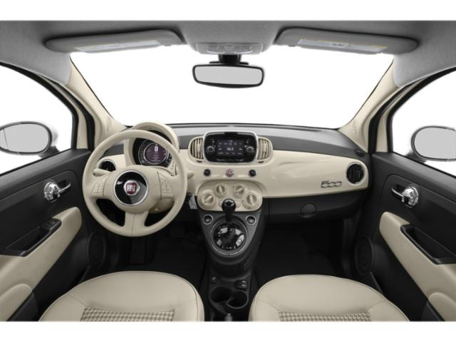 2018 FIAT 500 Prices and Values Hatchback 3D Lounge I4 full dashboard