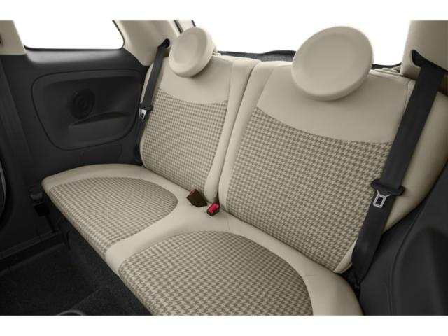 2018 FIAT 500 Prices and Values Hatchback 3D Lounge I4 backseat interior