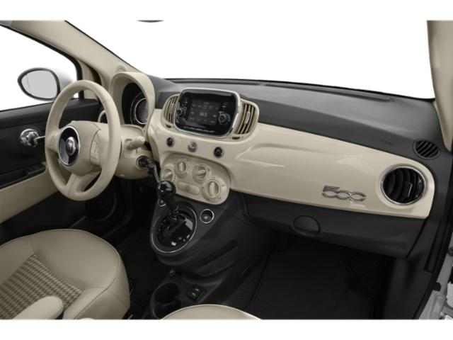 2018 FIAT 500 Prices and Values Hatchback 3D Lounge I4 passenger's dashboard