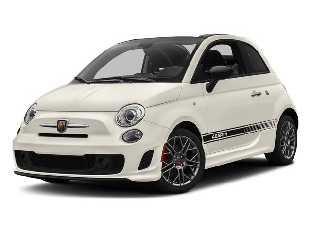 2018 FIAT 500c Base Price Pop Cabrio Pricing side front view