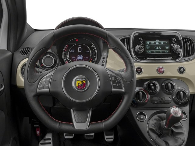 2018 FIAT 500c Base Price Pop Cabrio Pricing driver's dashboard