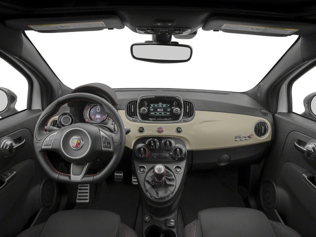 2018 FIAT 500c Base Price Pop Cabrio Pricing full dashboard