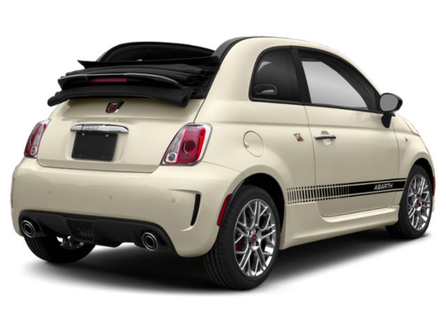 2018 FIAT 500c Base Price Pop Cabrio Pricing side rear view
