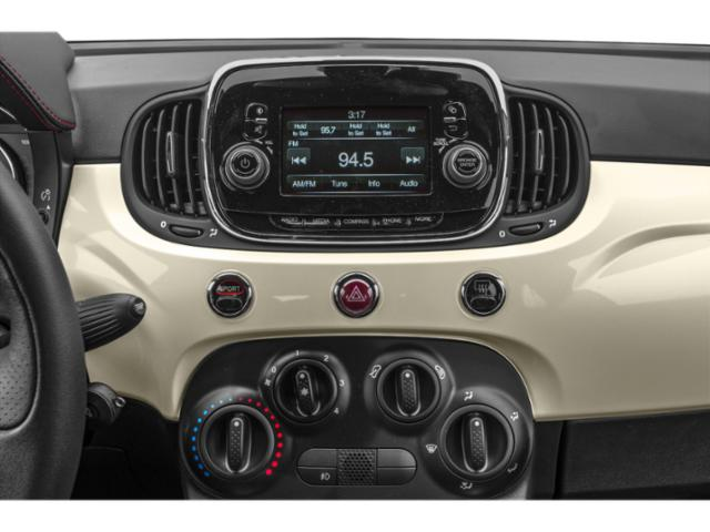 2018 FIAT 500c Base Price Pop Cabrio Pricing stereo system