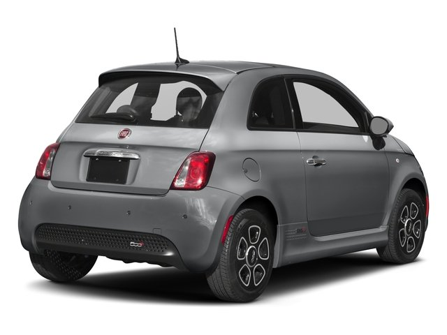 2018 FIAT 500e Base Price Hatch Pricing side rear view