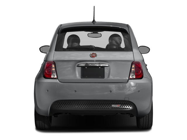 2018 FIAT 500e Base Price Hatch Pricing rear view