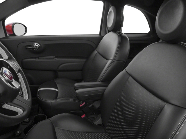 2018 FIAT 500e Base Price Hatch Pricing front seat interior