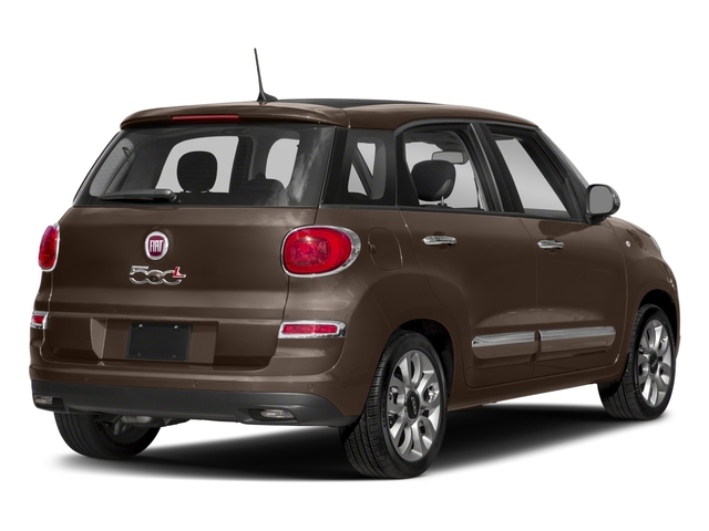 2018 FIAT 500L Pictures 500L Trekking Hatch photos side rear view