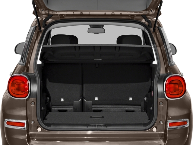 2018 FIAT 500L Pictures 500L Trekking Hatch photos open trunk