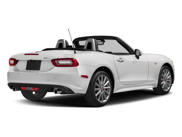 2018 FIAT 124 Spider Base Price Lusso Convertible Pricing side rear view