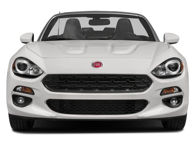 2018 FIAT 124 Spider Base Price Lusso Convertible Pricing front view