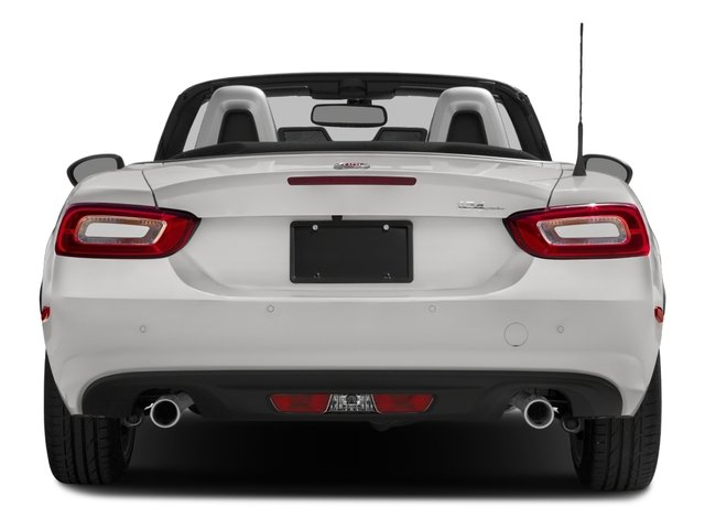 2018 FIAT 124 Spider Base Price Lusso Convertible Pricing rear view
