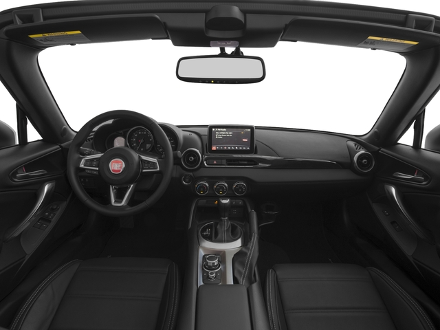 2018 FIAT 124 Spider Base Price Lusso Convertible Pricing full dashboard