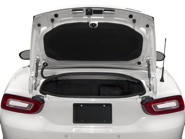 2018 FIAT 124 Spider Prices and Values Convertible 2D Lusso I4 Turbo open trunk