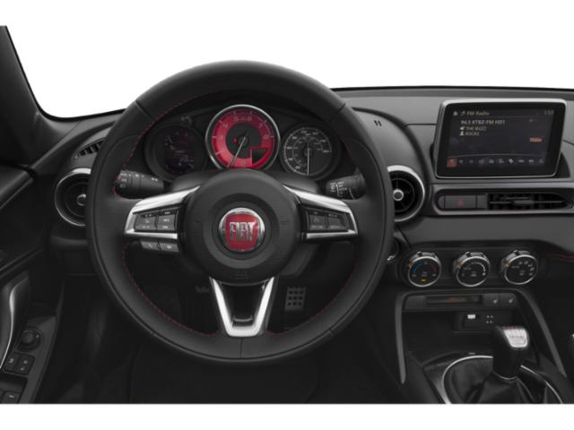 2018 FIAT 124 Spider Prices and Values Convertible 2D Lusso I4 Turbo driver's dashboard