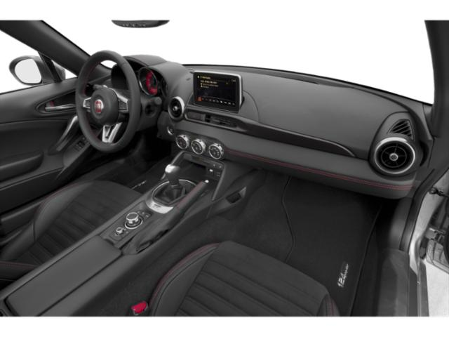 2018 FIAT 124 Spider Prices and Values Convertible 2D Lusso I4 Turbo passenger's dashboard