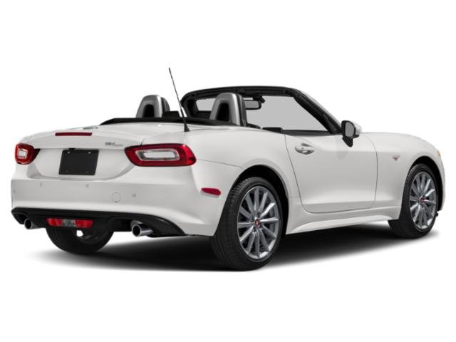 2018 FIAT 124 Spider Prices and Values Convertible 2D Lusso I4 Turbo side rear view