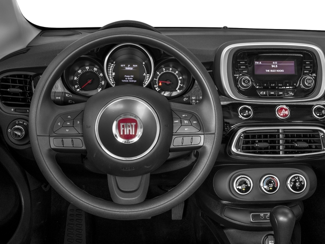 2018 FIAT 500X Base Price Pop AWD Pricing driver's dashboard